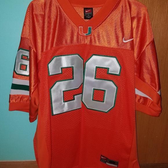 super popular 01b9d 937fb Sean Taylor Miami hurricanes Nike Jersey